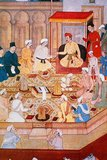 Jalaluddin Muhammad Akbar, also known as Shahanshah or Akbar the Great (1542—1605), was the third Mughal Emperor. He was of Timurid descent; the son of Humayun, and the grandson of Babur, the ruler who founded the Mughal dynasty in India. By the end of his reign in 1605, the Mughal empire covered most of the northern and central India and was one of the most powerful empires of its age.